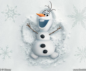 frozen, olaf, and snow image