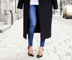 fashion, classy, and heels image