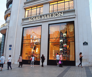 Louis Vuitton, store, and luxury image