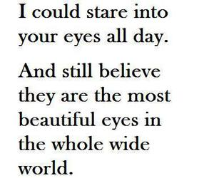 beautiful, eyes, and quote image