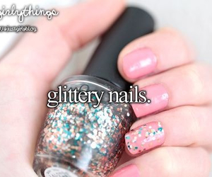 nails, glitter, and just girly things image