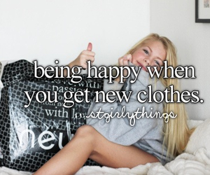 clothes, happy, and girl image