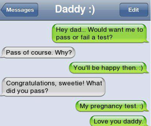 daddy, text, and funny image