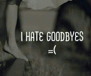 goodbye, hate, and quote image