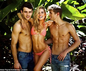 blonde, boys, and kimberley garner image