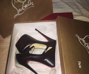 louboutin, fashion, and shoes image