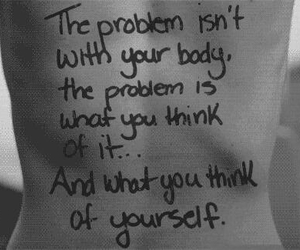 anorexia, think, and tumblr image