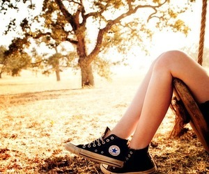 converse, shoes, and kristen stewart image