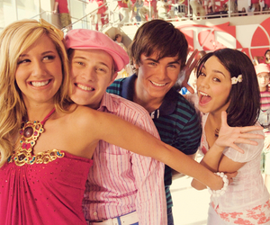 high school musical, ashley tisdale, and vanessa hudgens image
