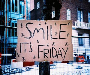 friday and smile image