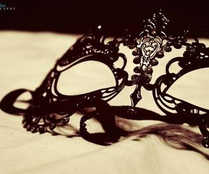 black, mask, and Darkness image