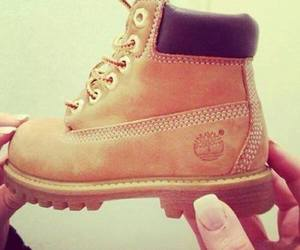 timberland, shoes, and baby image