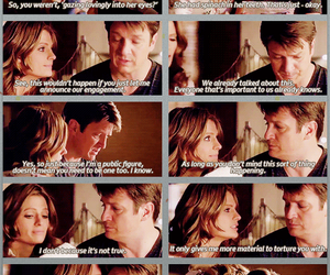 actor, richard castle, and stana katic image