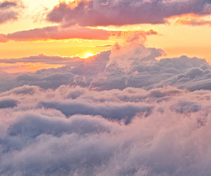 clouds, girly, and nature image