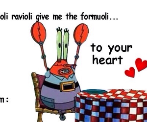 sponge bob, valentines day, and valentines day card image