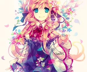 girl, anime, and anime girl image