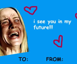 lana, american horror story, and valentines cards image