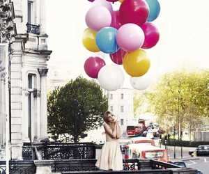 balloons and dress image