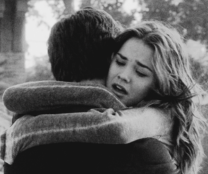 couple, hug, and thefosters image