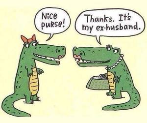 crocodile, funny, and ex image