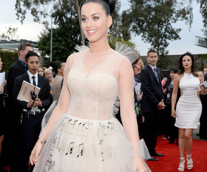 katy perry, dress, and grammys image