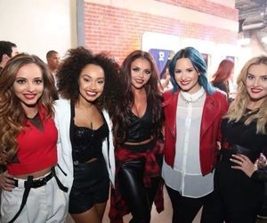 demi lovato, little mix, and perrie edwards image