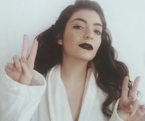lorde, grunge, and pale image