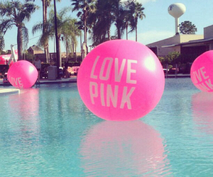 pool, love pink, and paradise image