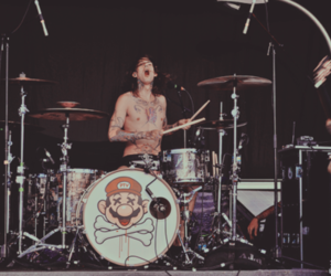 drum, mike fuentes, and pierce the veil image
