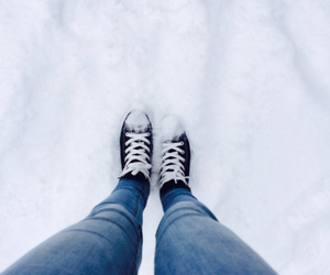 cold, converse, and cool image