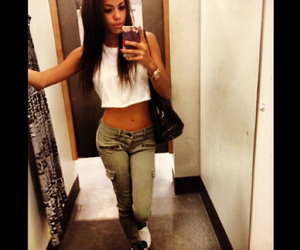 dressing room, model, and ootd image