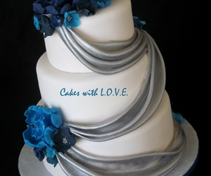 amour, gateaux, and love image