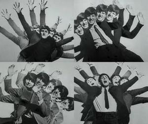 beatles, love, and music image