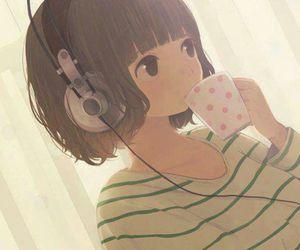 coffee, tea, and girls image
