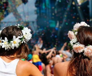 flowers and friends image