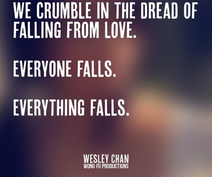 falling in love, wesley chan, and wong fu productions image