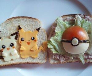 pokemon, food, and pikachu image