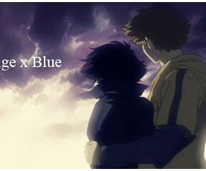 anime, blue, and forever image