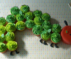 bugs, cupcakes, and kids image