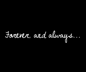 love, always, and forever image