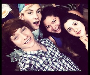 raini rodriguez, ross lynch, and laura marano image