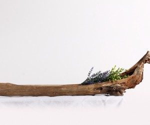 driftwood, handmade carved, and home decor image