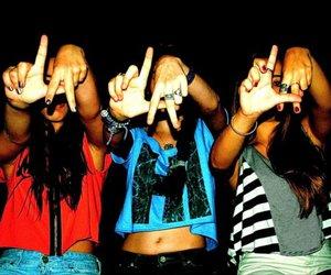 girl, la, and friends image