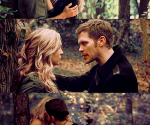 klaus, candice accola, and caroline image