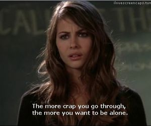 alone, crap, and quote image