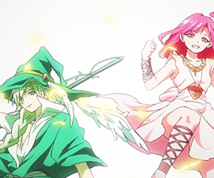 anime, magi, and morgiana image