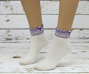 clothing, lace sock, and lace boot socks image