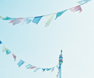 blue, flags, and lovely image