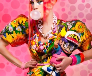 candy, club kids, and make up image