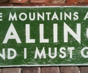 adventure, calling, and mountains image